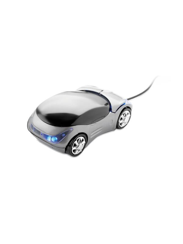 Optická myš MINIA stříbrná 2
