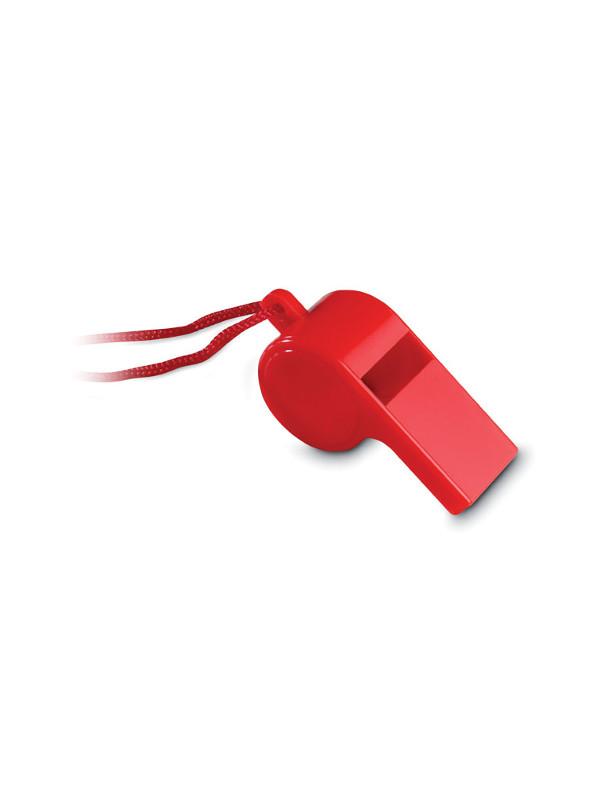 Reklamní píšťalka REFEREE, červená 2