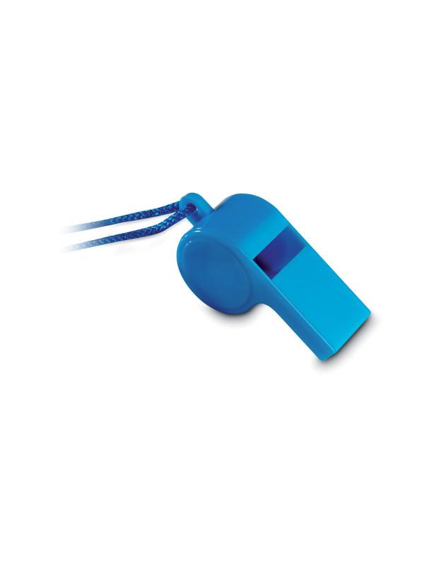 Reklamní píšťalka REFEREE, modrá