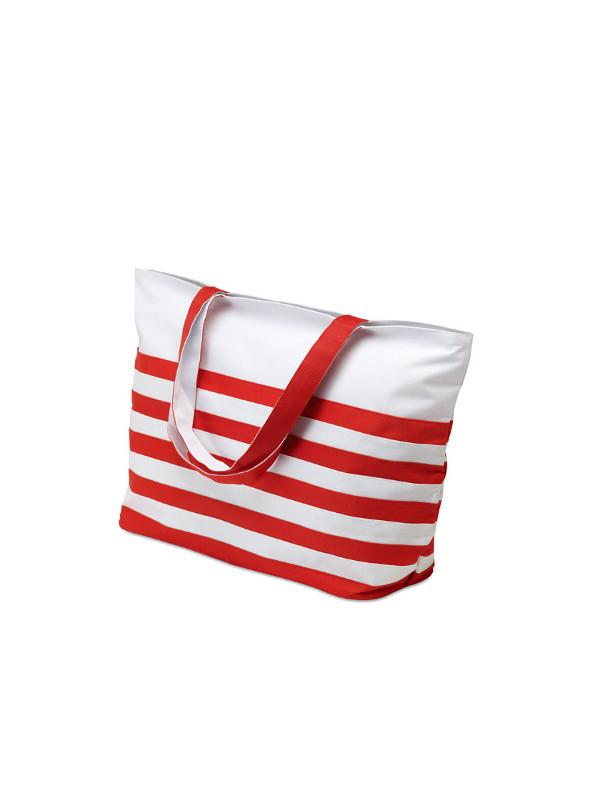 Plážová taška ANTIBES červená