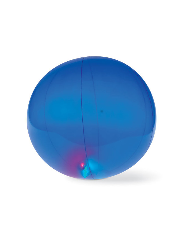 Plážový míč LIGHTY, modrá