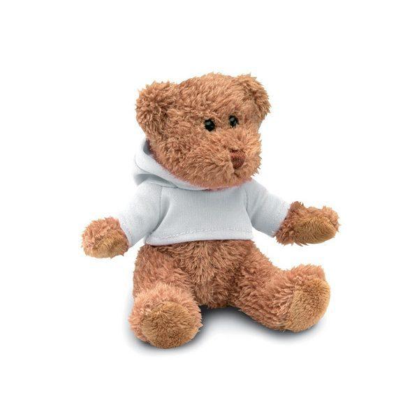 Pllyšový medvěd JOHNNY bílá