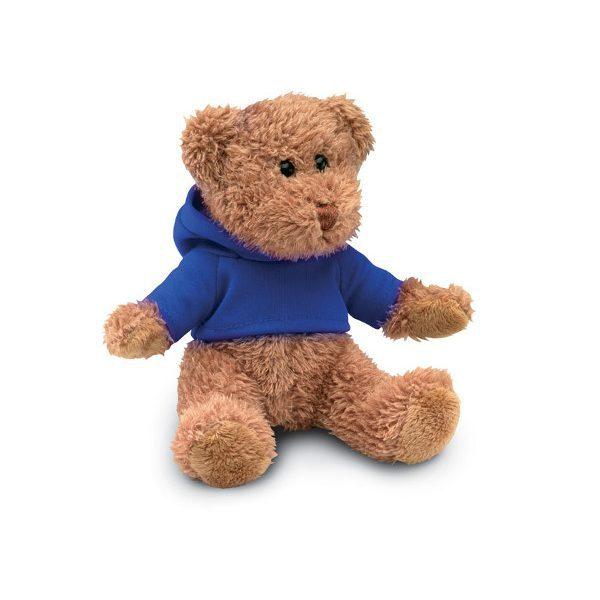 Pllyšový medvěd JOHNNY modrá