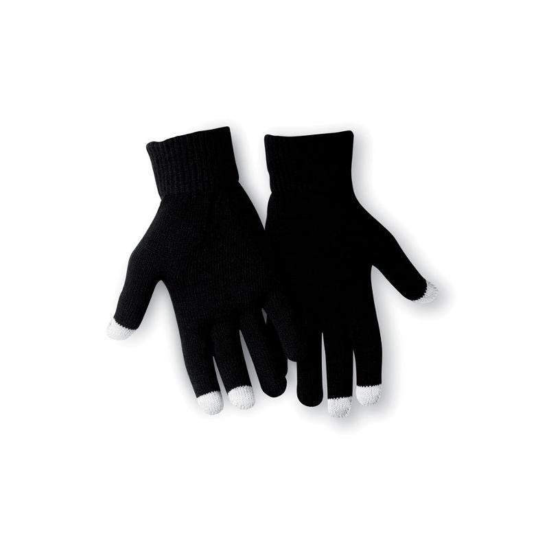Reklamní rukavice TACTO černá