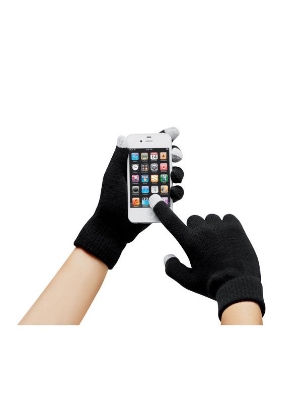 Reklamní rukavice TACTO černá 2