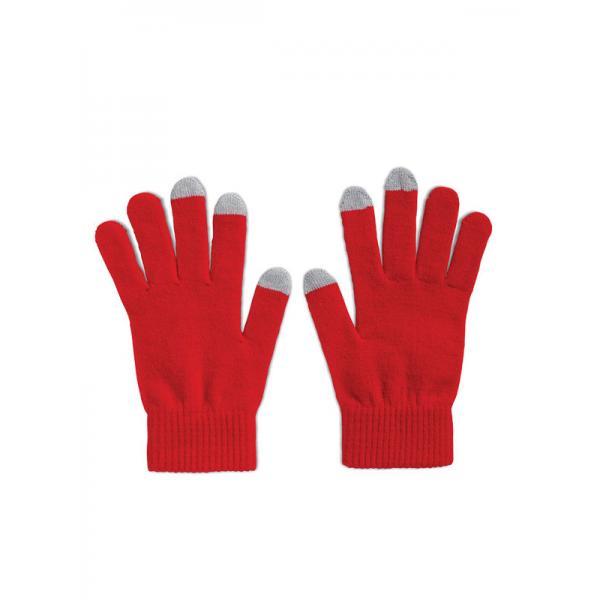 Reklamní rukavice TACTO červená