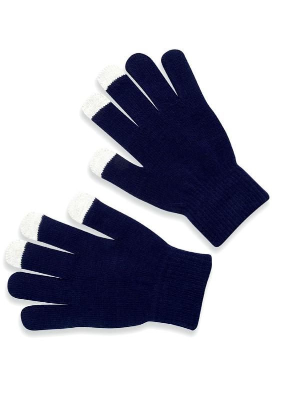 Reklamní rukavice TACTO modrá