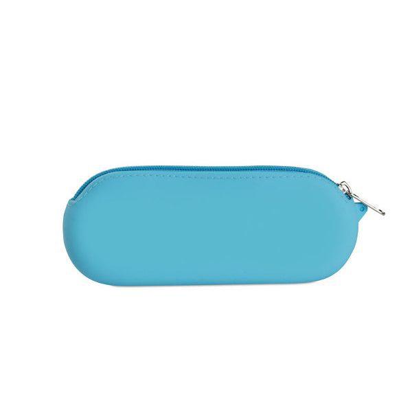 reklamní silikonové pouzdro DORIAN modrá 1