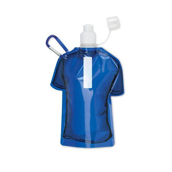 Reklamní skládací láhev SAMY modrá