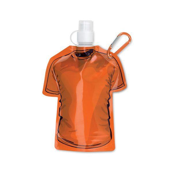 reklamní skládací láhev SAMY, oranžová