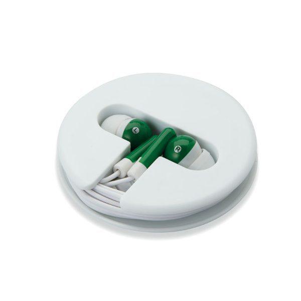 Reklamní sluchátka SONOSOFT zelená