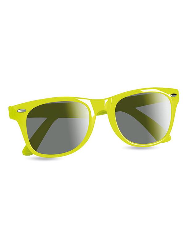 Sluneční brýle AMERICA limetková
