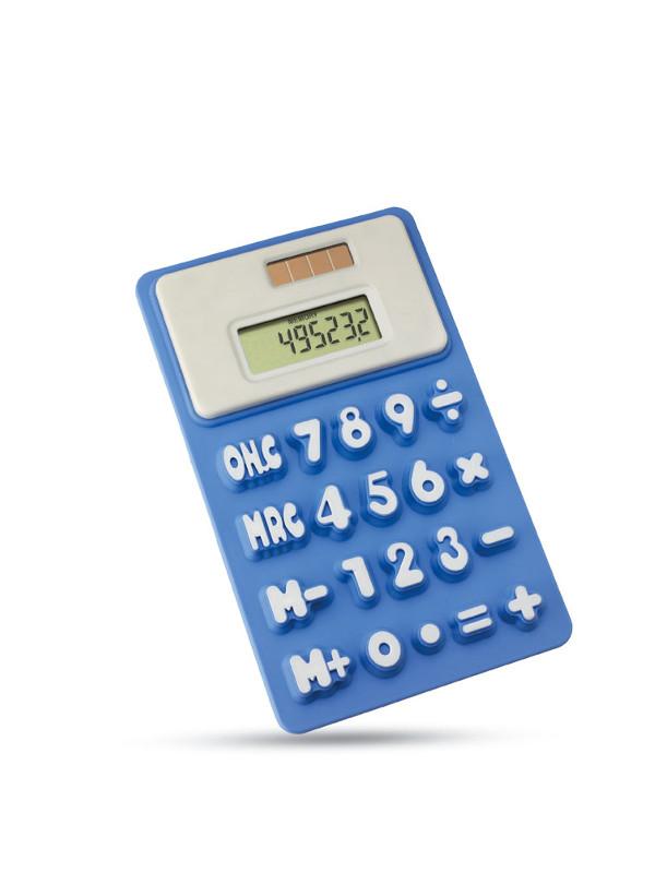 Solární kalkulačka FLEXICAL modrá
