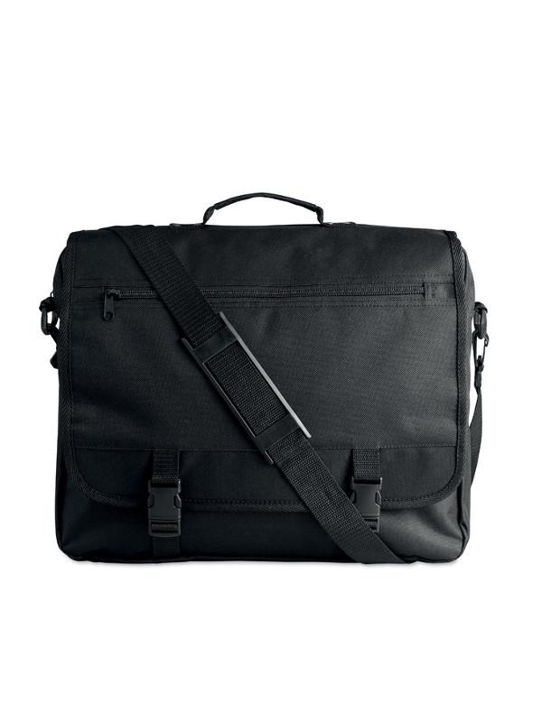 Reklkamní taška na dokumenty FLAPA černá