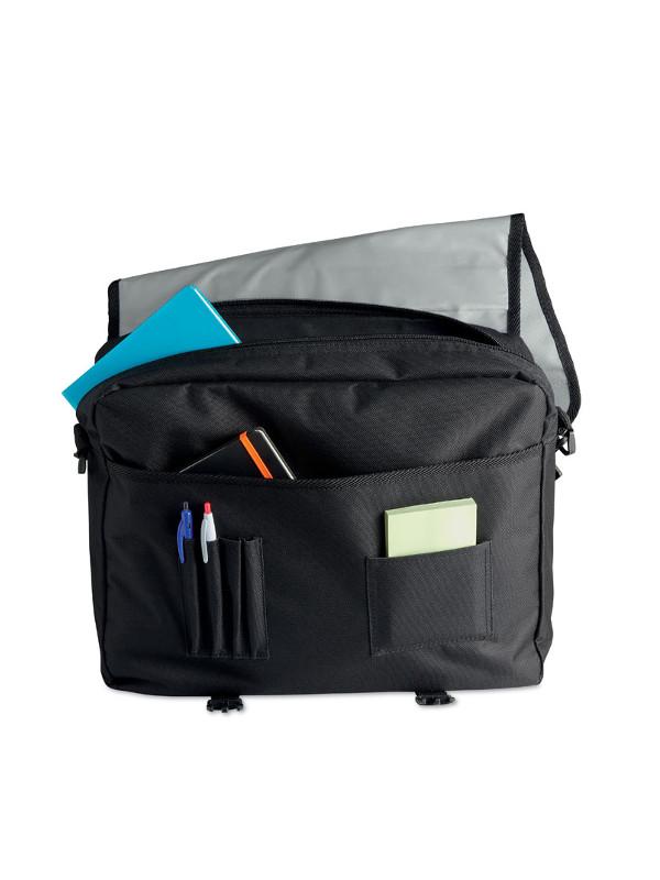 Reklkamní taška na dokumenty FLAPA šedá