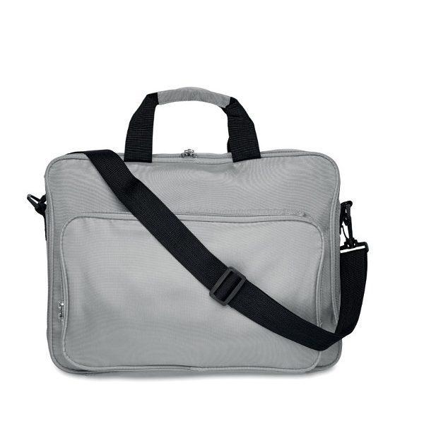 Taška na notebook LUCCA stříbrná