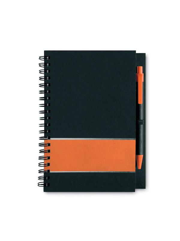 Reklamní zápisník LIGNEX oranžová