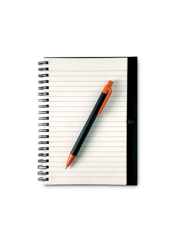 Zápisník LIGNEX oranžová 2