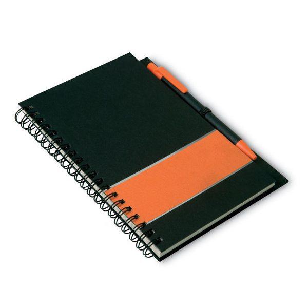 Zápisník LIGNEX oranžová 3