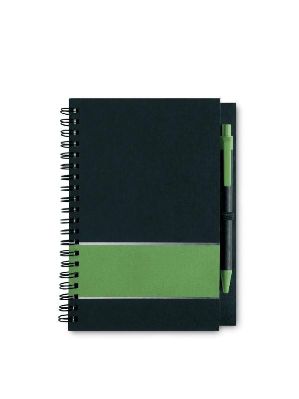 Reklamní zápisník LIGNEX zelený