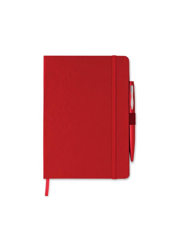 Reklamní zápisník NOTAPLUS červená