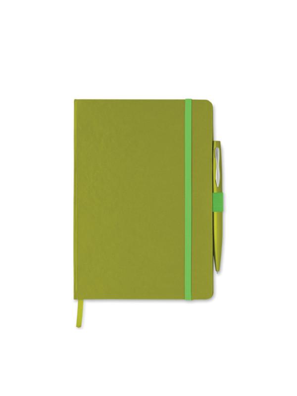 Reklamní zápisník NOTAPLUS zelený