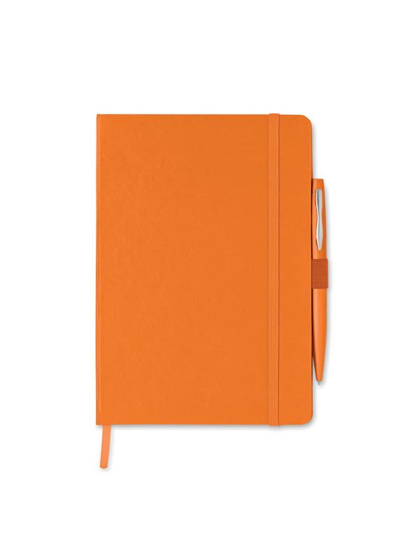 Reklamní zápisník NOTAPLUS oranžový