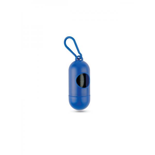 Zásobník sáčků pro psy TEDDY, modrá