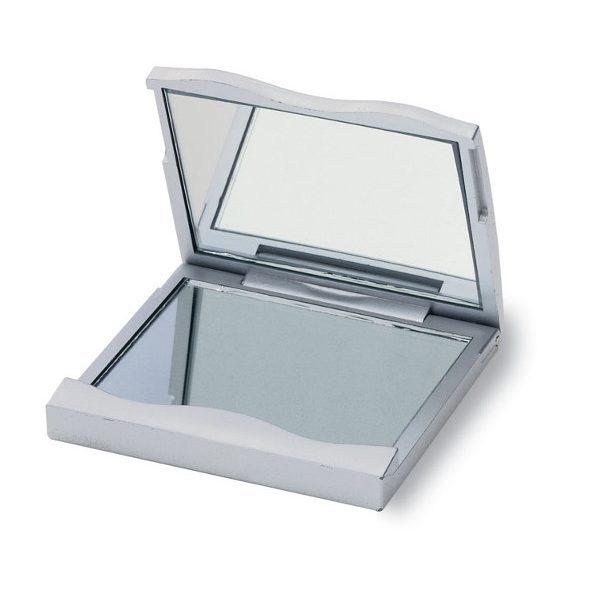 Zrcátko GORGIOUS stříbrná 1
