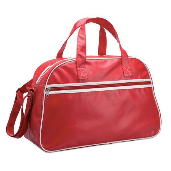 Reklamní sportovní taška VINTAGE červená