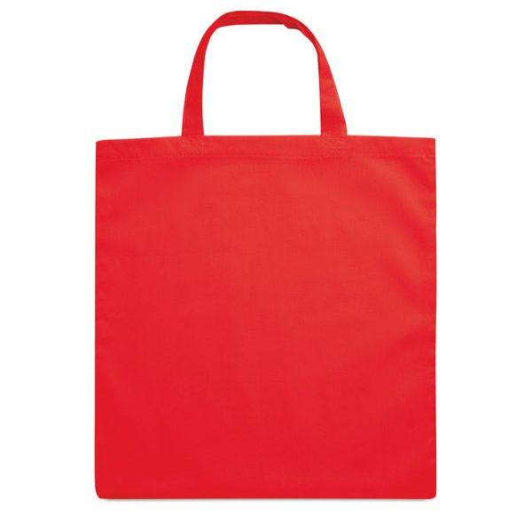 Reklamní nákupní taška MARKETA COLOUR červená