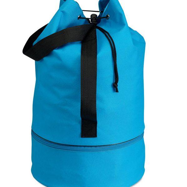 reklamní taška vak PISINA světle modrá