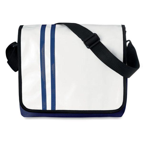 Reklamní taška přes rameno STRIPPY modrá