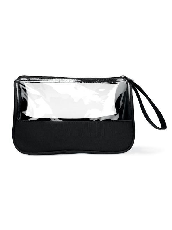 reklamní toaletní taška plas černá