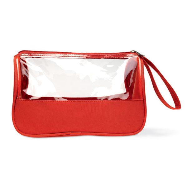 reklamní toaletní taška plas červená