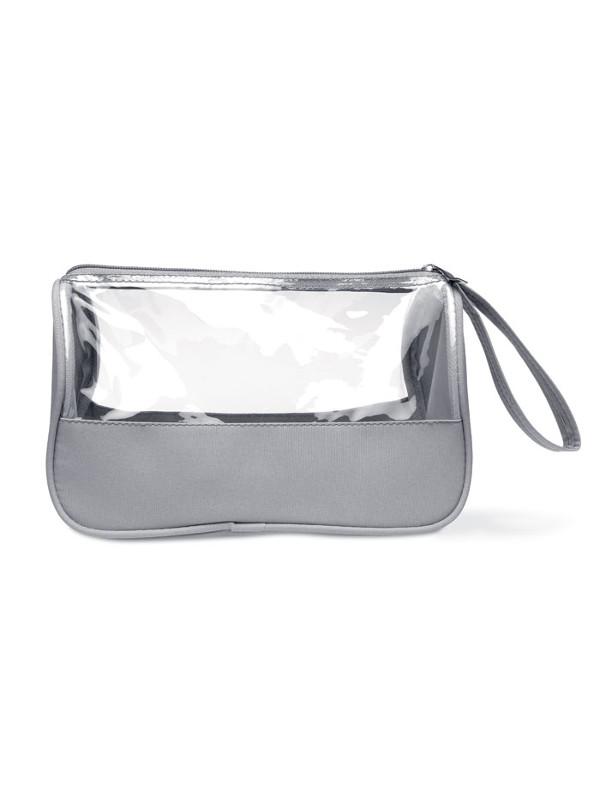 reklamní toaletní taška plas šedá