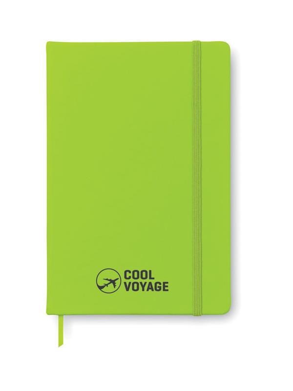 Reklamní zápisník zelený s potiskem ARCONOT