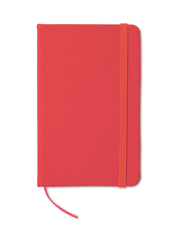 Reklamní zápisník NOTELUX červený