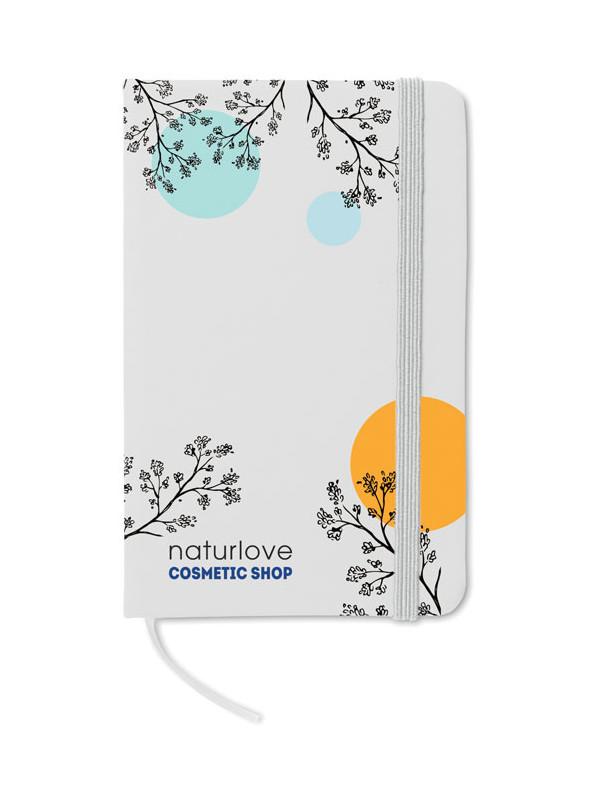 Reklamní zápisník NOTELUX bílý s potiskem