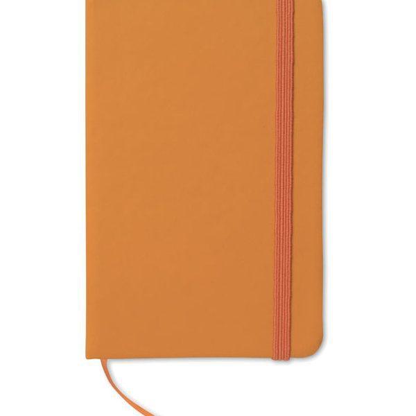 Reklamní zápisník NOTELUX oranžový