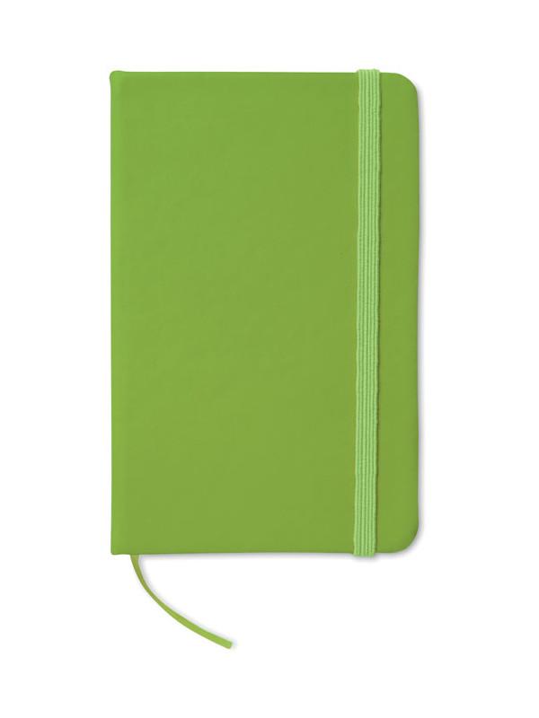 Reklamní zápisník NOTELUX zelený 1