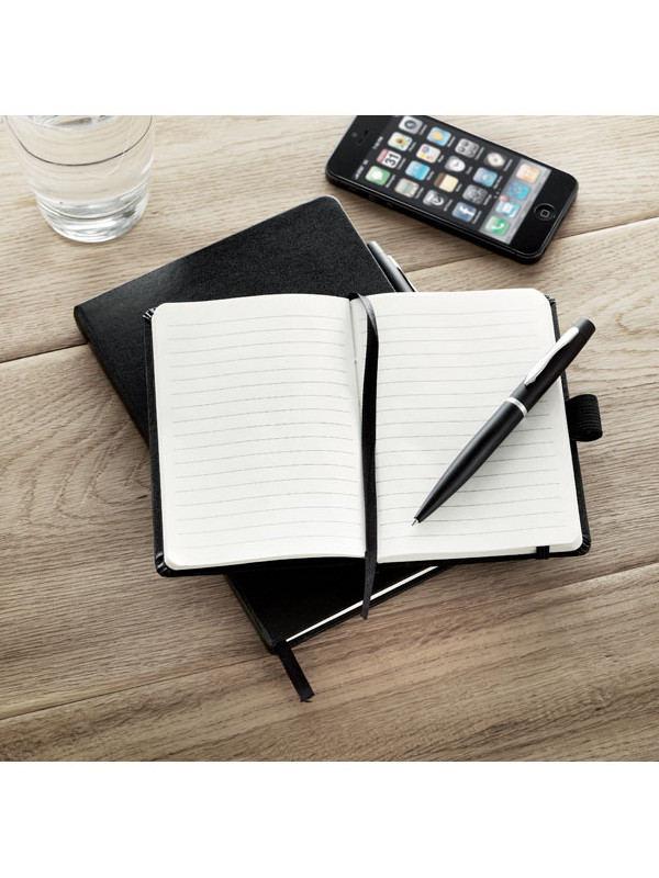 Reklamní zápisník s propiskou A6 NOTALUX 6
