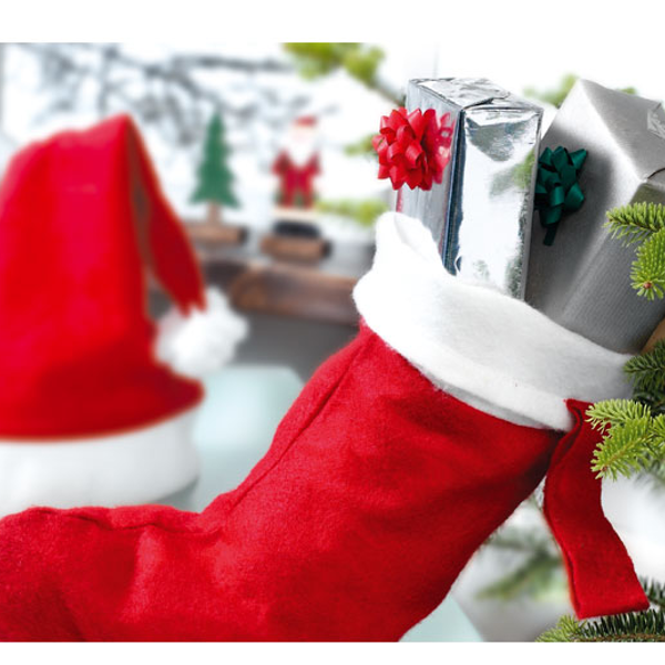 Reklamní Vánoční ponožka NOBO 2