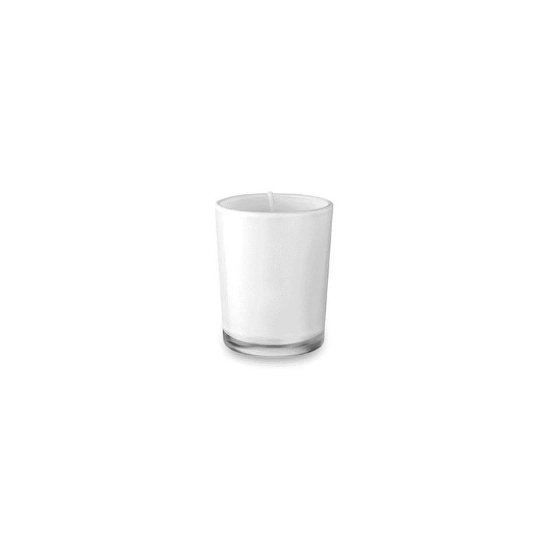 Reklamní vonná svíčka - bílá