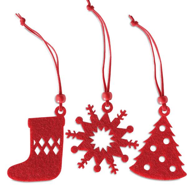 Reklamní Vánoční ozdoby FELTIO 3
