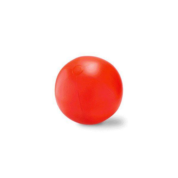 Reklamní nafukovací míč PLAY červená