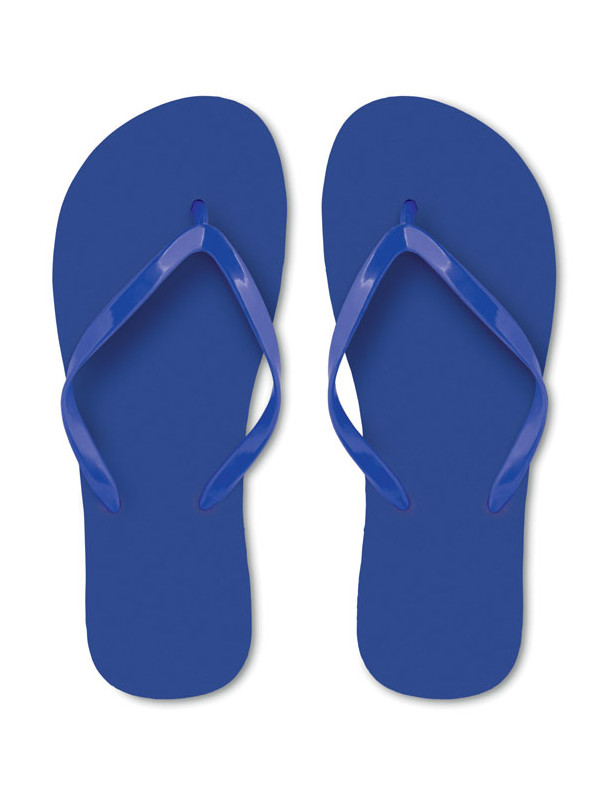Reklamní plážové žabky HONOLULU modré