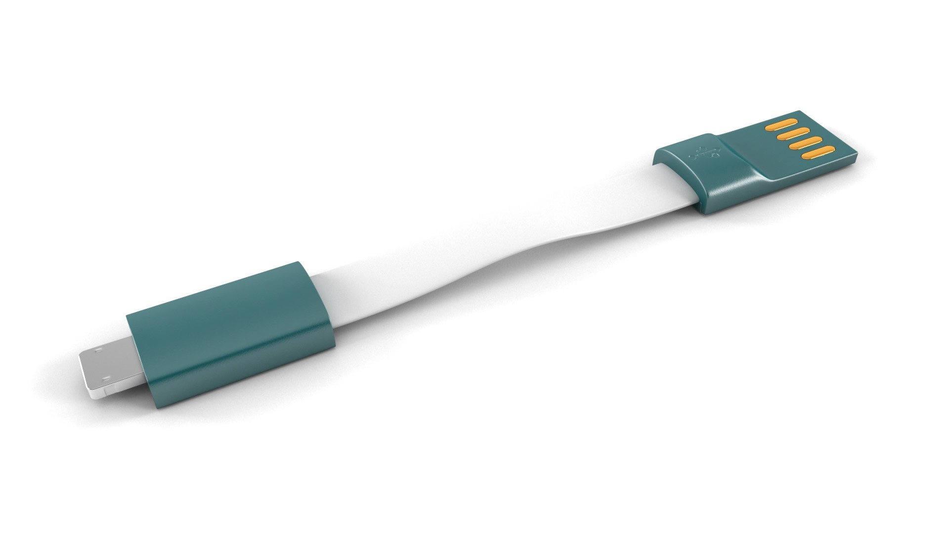 Reklamní oboustranný nabíjecí kabel