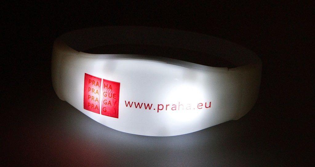 LED náramek Praha