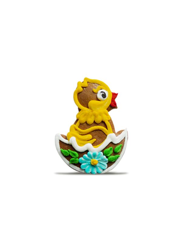 velikonoční medový perníček - kuřátko